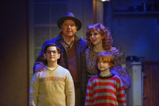 A Christmas Story The Musical.A Christmas Story The Musical Theatermania