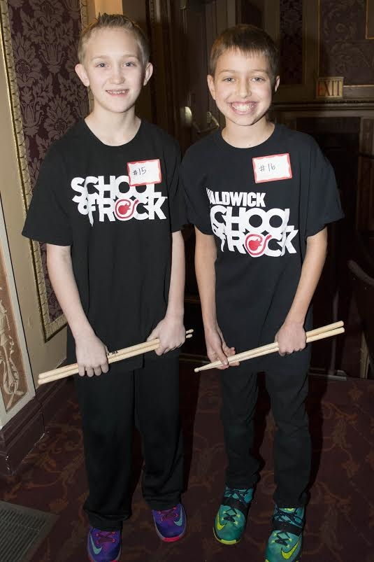 Young Musicians Audition For Broadways School Of Rock Theatermania