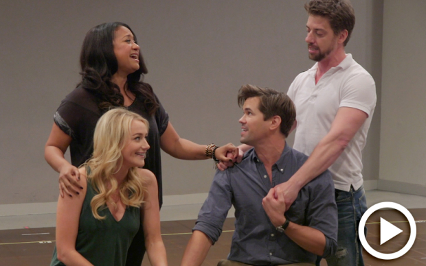 An Emotional Look at Christian Borle, Andrew Rannells, and the Unlikely Lovers of Falsettos