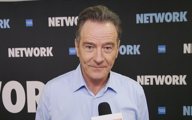 Bryan Cranston and the Cast of Network Give Us the Broadway Bulletin