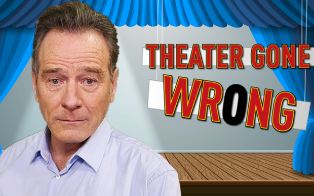 Theater Gone Wrong: Even Bryan Cranston Forgets His Lines Sometimes