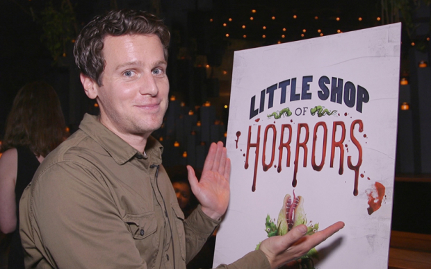 Jonathan Groff and the Cast of Little Shop of Horrors Can't Wait to Get to Skid Row   TheaterMania
