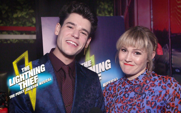 Stars Ask Stars at the Opening of The Lightning Thief | TheaterMania