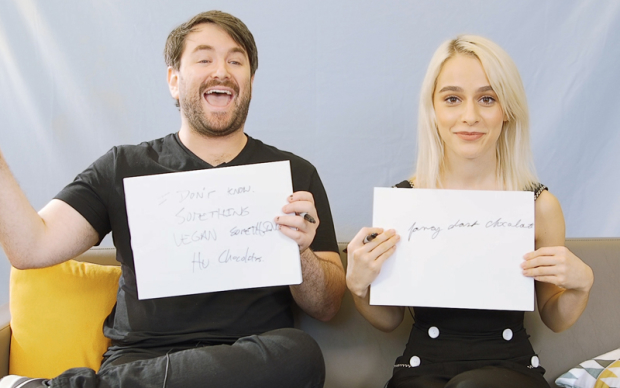 How Well Do Beetlejuice Stars Alex Brightman and Sophia Anne Caruso Know Each Other?   TheaterMania